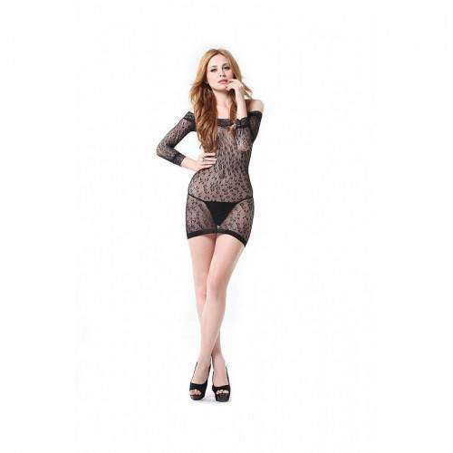 Vestido Rendado - Bodystocking - 3503