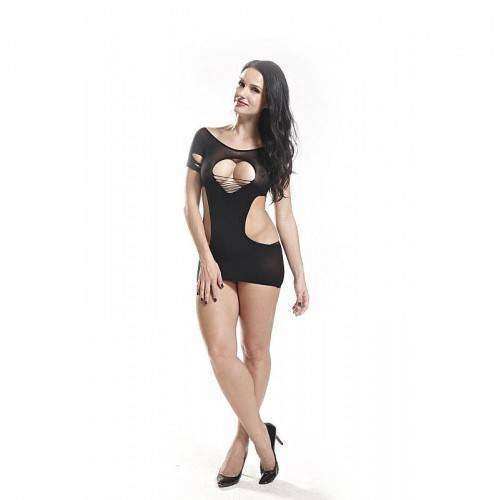 Vestido Rendado - Bodystocking - 3509
