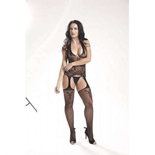 Macacão Rendado - Bodystocking - 3537