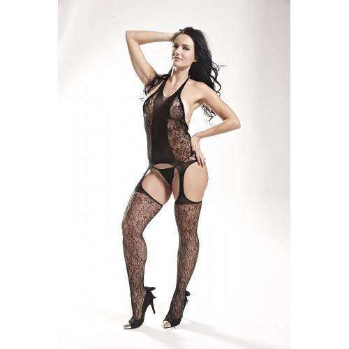 Macacão Rendado - Bodystocking - 3541