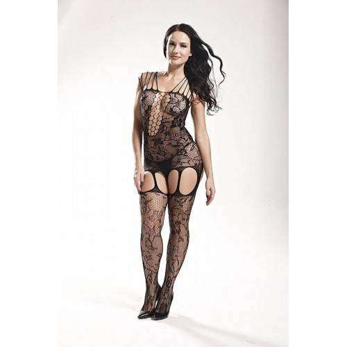 Macacão Rendado - Bodystocking - 3543