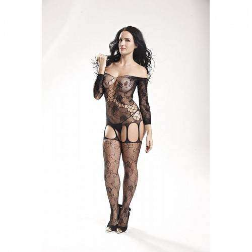 Macacão Rendado - Bodystocking - 3544