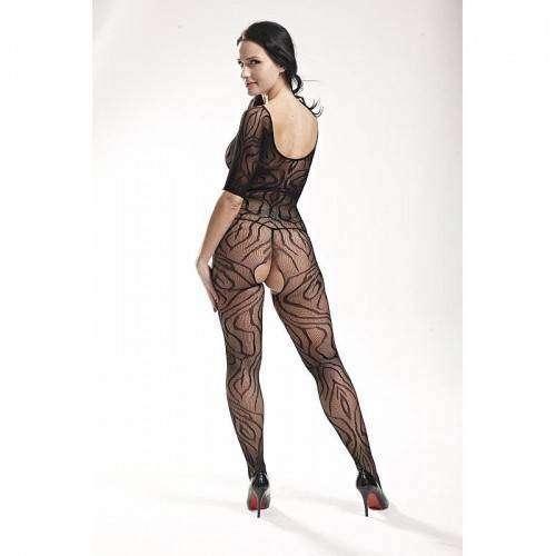 Macacão Rendado - Bodystocking - 3545