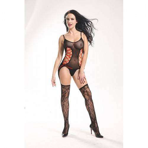 Body de Luxo Rendado - Bodystocking - 3546