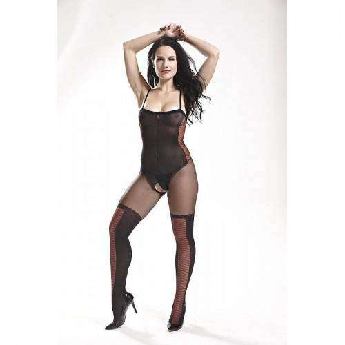 Macacão Rendado - Bodystocking - 3554