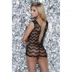 Vestido Rendado - Bodystocking - 3604