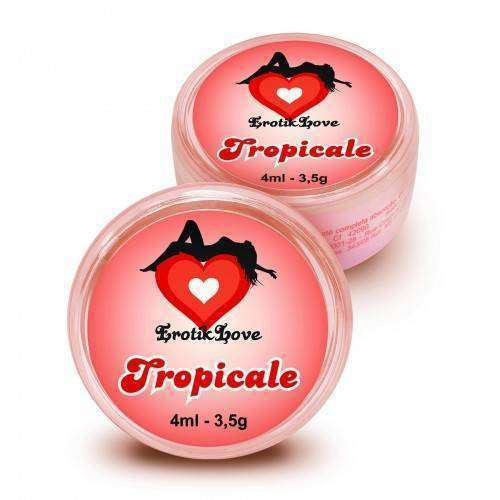 Pomada Excitante Esquenta Esfria Tropicale - 4ml/3,5g