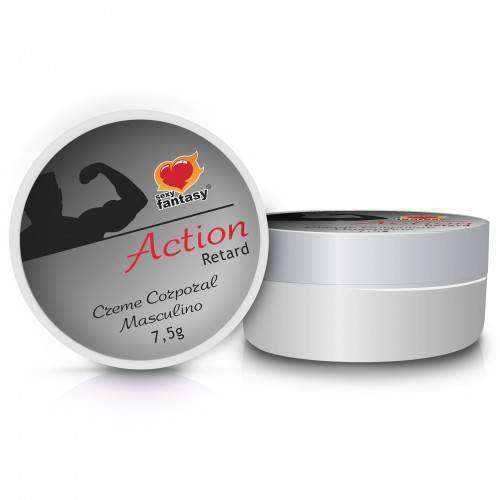 Creme Retardante Action Retard 7,5g - Base Silicone