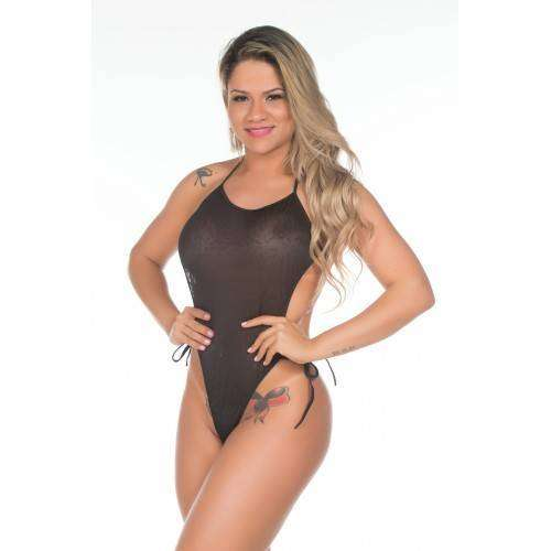 Mini Fantasia Body Renda - Pimenta Sexy