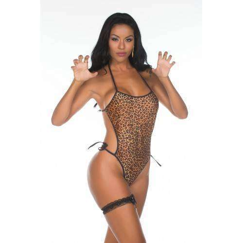 Mini Fantasia Body Animal Print - Pimenta Sexy