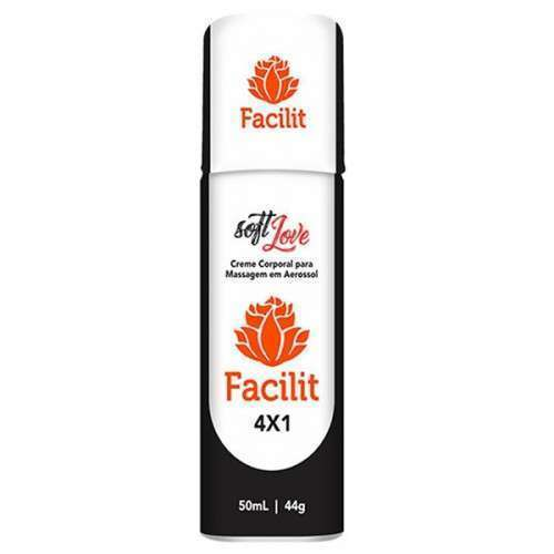 Aerosol Facilit 4x1 Aerosol 50ml - Sexo Anal Soft Love