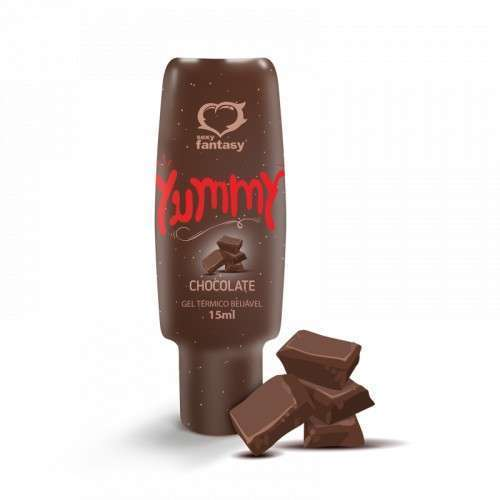 Gel Térmico Beijável Yummy Chocolate 15ml