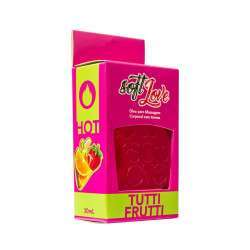 Gel Comestível Excita e Esquenta - Hot 30ml - Soft Love - Tutti Frutti