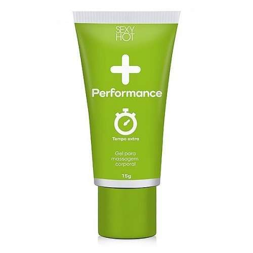 Gel + Performance Sexy Hot - (Retardante ) Masculino para Massagem 15g