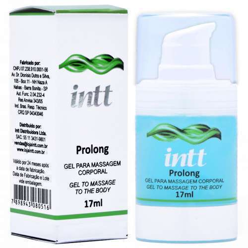 Gel Excitante e Prolongador Masculino - Prolong 17ml - INTT