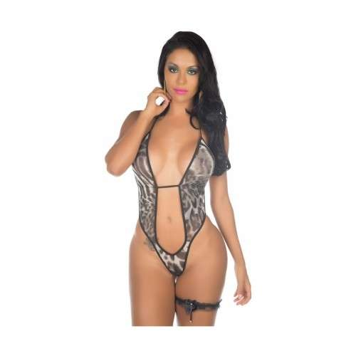 Mini Fantasia Body Felina - Pimenta Sexy